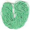 13/o CHARLOTTE BEADS - Opaque Green