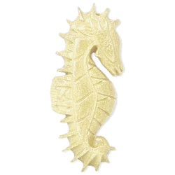 23x58mm Antiqued Carved Bone SEAHORSE Pendant/Focal Bead