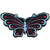 "2"" x 4-1/4"" Iron-On Large *Butterfly* Applique"