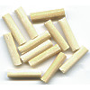 "7/8"" Narrow Natural Bone TUBE Beads"