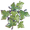 "3/4"" & 1-1/8"" Nylon *Ivy Leaves* (Loop-Back) BUTTONS"