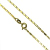 "18"" Finished 18K Gold Filled 1.5mm Dainty SCROLL CHAIN Necklace with Spring Clasp"