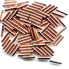 1.5x6.5mm Copper TUBE Beads