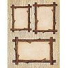 Provo Craft® 8½ x 11 *Twig Mini Frames* DECORATIVE CRAFT PAPER Sheet