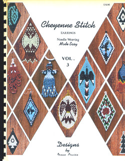 Cheyenne Stitch Earrings: Needle Weaving Made Easy, Garden Edition - Vol. 3
