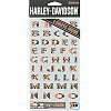 EK Success® *Harley-Davidson® Flame Alphabet* STICKERS