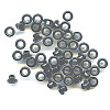 "3/16"" (5mm) Round Metal EYELETS - Black"