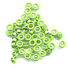 "3/16"" (5mm) Round Metal EYELETS - Light Green"