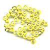 "3/16"" (5mm) Round Metal EYELETS - Light Yellow"