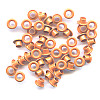 "3/16"" (5mm) Round Metal EYELETS - Orange"