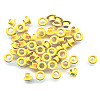 "3/16"" (5mm) Round Metal EYELETS - Yellow"
