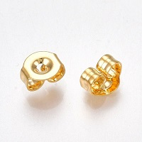 Gold Plated 304 Stainless Steel EARRING CLUTCH / EARNUTS / BACKINGS