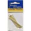 "Darice® 2"" Goldtone Brass (21 gauge) HEAD  PINS"