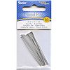 "Darice 2"" Bright Silver Plated Brass (21 gauge) HEAD PINS"
