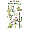 Jolees' Boutique Le Grande® *Cactus with Lights* Dimensional STICKER Embellishments