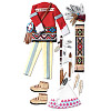 Jolee's Boutique Le Grande® *Native American* Dimensional STICKER Embellishments