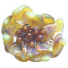 22x23mm *CACTUS BLOOM* Sculpted Lampwork Focal/Pendant Bead ~ Lluvia Brito