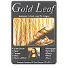 "Mona Lisa® 5 1/2"" Composition METAL LEAF Sheets - Gold"