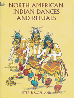 North American Indian Dances and Rituals Coloring Book