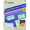 "Avery® (5371) 2"" x 3.5"" Laser BUSINESS CARD Paper - White"