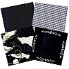 Paper Pizazz® 11¾ x 12 *Black & White* Patterned SCRAPBOOK PAPER Assortment