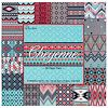 "The Paper Studio® 80/Sheets 12""x12"" ""Cheyenne"" Printed SCRAPBOOK PAPER Assortment"