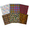 Paper Pizazz® 11¾ x12 *Father's Day* Masculine Patterned SCRAPBOOK PAPER Assortment