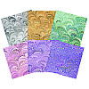 Paper Pizazz® 11¾ x 12 *Retro Psychedelics* Patterned SCRAPBOOK PAPER Assortment