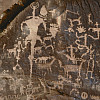 Scrap Your Trip® 12x12 *Cave Drawings* Petroglyph Printed SCRAPBOOK PAPER