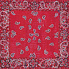Scrapbookers Painted Page® 12x12 *Red Bandanna* Patterned SCRAPBOOK PAPER