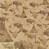 SugarTree® 12x12 *Sacred Bison* Printed SCRAPBOOK PAPER