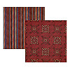 Creative Imaginations® 12x12 *Western Bandanna & Stripes* Double-Sided SCRAPBOOK PAPER