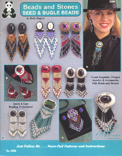 Suzanne McNeill Design Originals: Beads and Stones, Seed & Bugle Beads (2258)