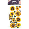 Sticko® (SPVM76) *Sunflowers* Vellum STICKERS