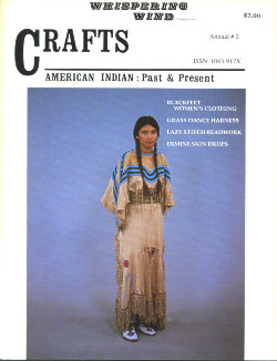 Whispering Wind Magazine: American Indian Past & Present ~ CRAFTS ANNUAL #2